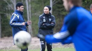 Joakim Larsson kan snart få stärka upp Khoa Mais försvar igen.