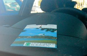 P-skiva. Nu ett krav när du ska ställa bilen i Lindesbergs centrum.