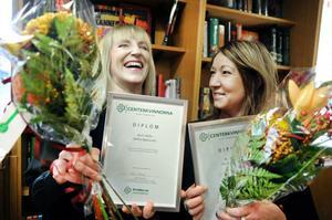 Systrarna Karin och Maria Helin har arbetat på Helins bokhandel så länge de kan minnas. Nu har de utsetts till Årets kvinnliga företagare 2012 i Bollnäs kommun av Centerkvinnorna i Gävleborg.