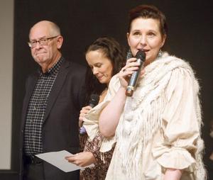 Juryn: Lasse Lingman, Malin Berghagen och Ulrika Beijer