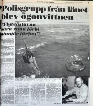 Ur Länstidningen från 1994.