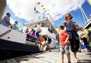 En tur i samband med Ångbåtens dag på Storsjön för några år sedan .