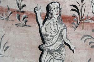 Ytterligare en detalj från väggmålningen i Per Unnes herrstuga.