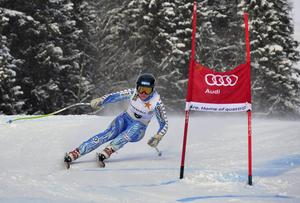 Lin Ivarsson, Åre, inledde med en seger i den sena säsongspreiären i Åre.