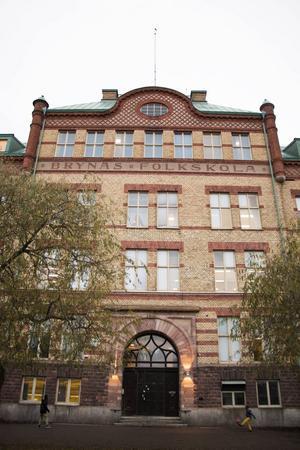 Brynäs folkskola – som ritades av stadsarkitekten E A Hedin – invigdes 1905.