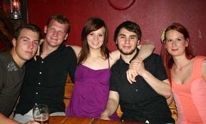 Konrad. Jonathan, Andreas, Emma, Christoffer