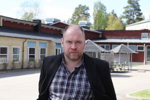 Micael Ling, biträdande rektor på Granbergsskolan i Bollnäs.