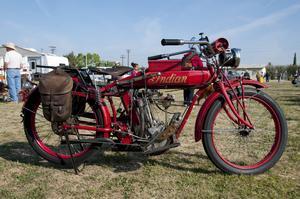 Motorcykeln Indian hade elstart redan för 100 år sedan.