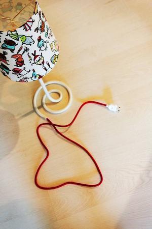 Barnprylar är en nyhet på Mio. Här lampan Brokiga med design av Anna Hörling och Stina Wirsén.