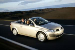 Renault Mégane CC hamnade sjua.  Foto: Renault