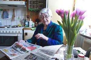 Lisa Valkeaoja har alltid varit samhällsengagerad. Placeringen av det nya äldreboendet är nu en hjärtefråga.