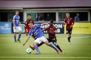ÖFK slog bland annat Sundsvall under säsongen, här med 2–0 hemma på Jämtkraft Arena. ÖFK finns med bland de nominerade i Årets lag.