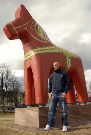 Efter en lång säsong och guldfirande med Skellefteå fick Tomas Skogs i helgen äntligen besöka sin