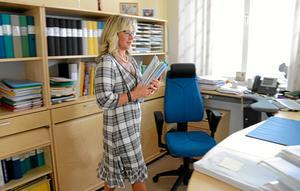 Efter 36 år. Personalchef Ann Karlsson lämnar nu kommunhuset i Hällefors för ett nytt jobb i Arboga.