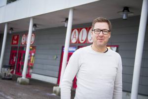 Patrik Bylund är marknadsansvarig i Timrå IK.