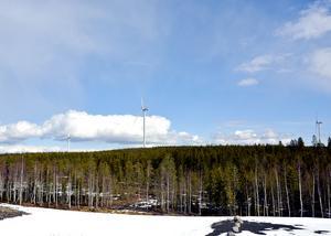 Rödstahöjdens vindpark i Skärvsta i Sollefteå kommun är ett av exemplen där det finns vindsnurror uppsatta i Västernorrland.