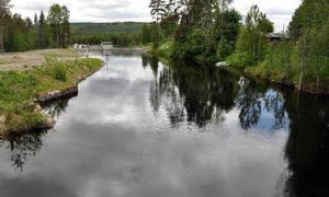 Ljungå kraftverk har givit Ljungåborna en ny, stor vattenspegel