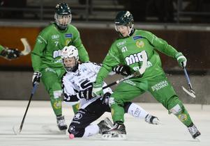 Hammarby byter tillbaka till ett helgrönt hemmaställ. Bilden är från säsongen 2015/16.