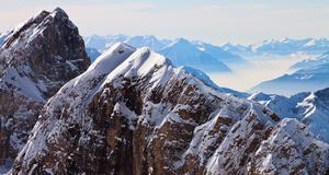 Nu kan man få en hisnande utsikt över alperna.