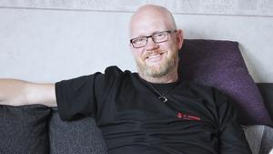 Leif Westberg, IF Metalls lokala ordförande på Seco Tools i Fagersta. Foto: Veronique Slottberg/Arkiv