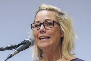 Centerpartiets Theresa Flatmo.