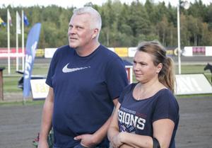 Göran Forslin och Maria Lindell.