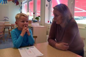 Jack, fem år, ritade det vinnande bidraget i Kartongmatchen.