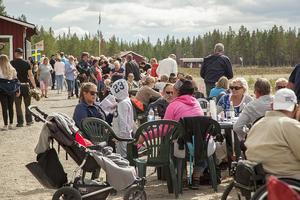 Bygdetravet i Vemdalen lockade många besökare till 20-års jubileumet i lördags.