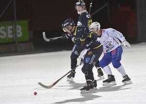 Daniel Bäck, ny i BS och inledde med två assist.