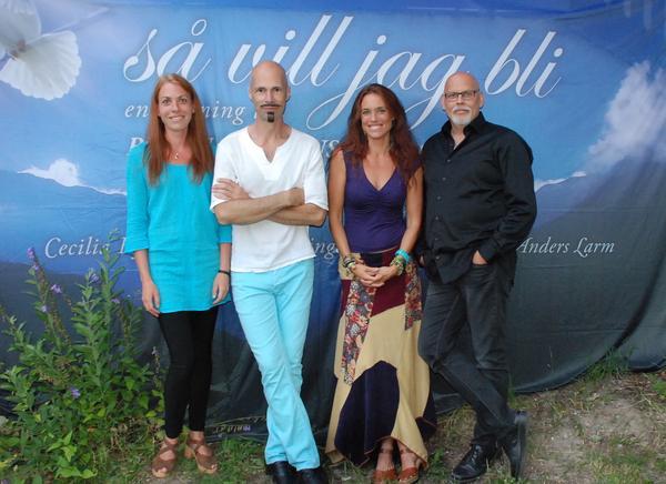 Fia Viktorsson, Bengt Kyllinge, Cecilia Kyllinge och Anders Larm medverkar på konserten