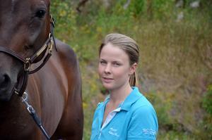 Caroline Åkerlund gör sin andra sejour som lärling hos Bergh.