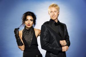 Gina Dirawi och André Pops leder den direktsända tv-prisgalan Kristallen under fredagskvällen.