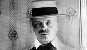 August Strindberg  (1849-1912).