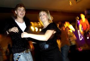 2005. Unga dansare på Lagårn i Skultuna.