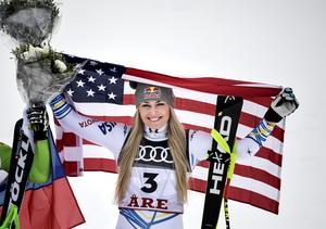 Lindsey Vonn höll avskedsshowen i Åre i vintras – nu vänder hon orten ryggen.