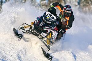 John Stenberg, LofsdalenFoto: Roger Strandberg - Skotercross.se