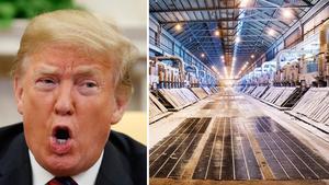 USA driver igenom de tullar Donald Trump hotat om.Foto: TT/Arkiv