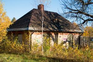 Uthuset vid stationsområdet kan, enligt planförslaget från V-Dala miljö och bygg, vara på väg bort.