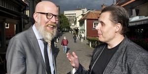 Daniel Nordström, chefredaktör och ansvarig utgivare, samt Pasi Hiirikoski, redaktionschef och stf ansvarig utgivare, VLT.