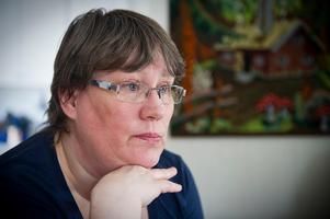 Jeanette Norling röstade blankt i bandyhallsfrågan. Bild: Anna Alverhag