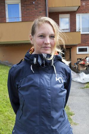 Maria Petterssons saker blev förstörda i förrådsbranden.