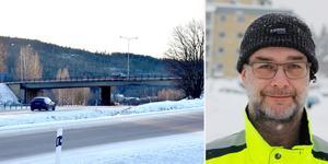 Glenn Mattsson, trafikingenjör vid Timrå kommun.