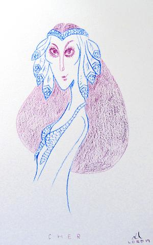 Cher av Gustaf Lord.  Foto: Niels Hebert