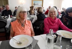 Majken Hjerpe och Cathy Erixon var två av SPF Frejas medlemmar som var på träffen.