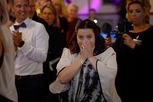 Pernilla Eurenius blev rejält överraskad när hon fick Årets hedersomnämnande.