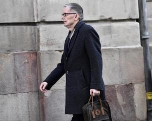 Svenska Akademiens direktör Anders Olsson har tillfälligt tagit över rollen som institutionens ständige sekreterare. Foto: Jonas Ekströmer/TT