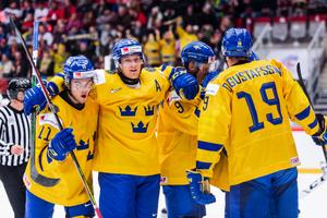 Foto: Simon Hastegård/Bildbyrån. Arkivbild: Ny seger för juniorkronorna i JVM.