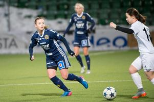 Ellinor Johansson – pigg på mittfältet i SDFF.