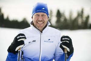 Mattias Svahn siktar på ett världsrekord i år under Vasaloppet.