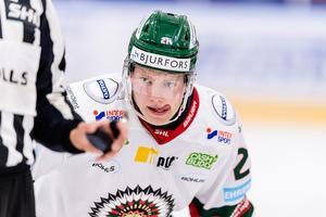Karl Henriksson lånas in av SSK. Foto: Jonas Ljungdahl (Bildbyrån).